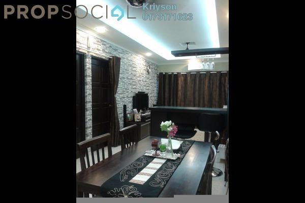 Condominium For Sale in Mahsuri Apartment, Setiawangsa Freehold Fully Furnished 3R/2B 390k
