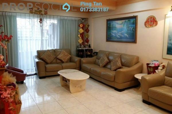 Duplex For Sale in Anjung Hijau, Bukit Jalil Freehold Semi Furnished 3R/2B 850k