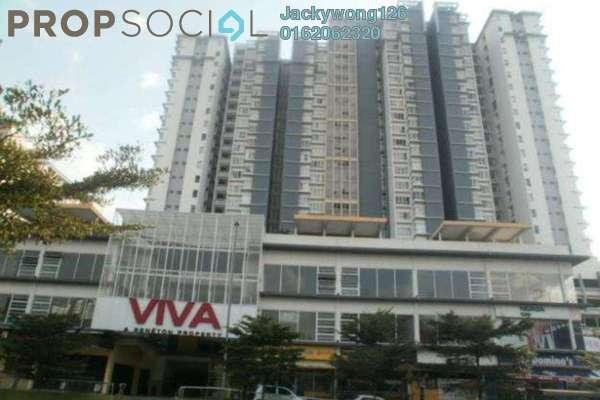 Condominium For Rent in Viva Residency, Sentul Freehold Fully Furnished 2R/2B 2.3k