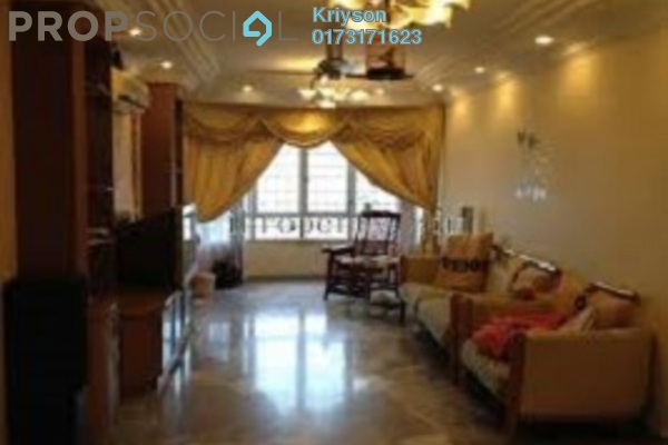 Condominium For Rent in Sri Intan 1, Jalan Ipoh Freehold Semi Furnished 3R/2B 1.2k