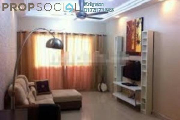 共管公寓 单位出租于 Kinrara Mas, Bukit Jalil Freehold Unfurnished 3R/2B 1.2千