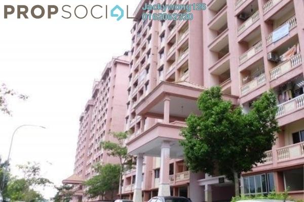 Condominium For Sale in Dahlia Apartment, Pandan Indah Leasehold Semi Furnished 3R/2B 310k