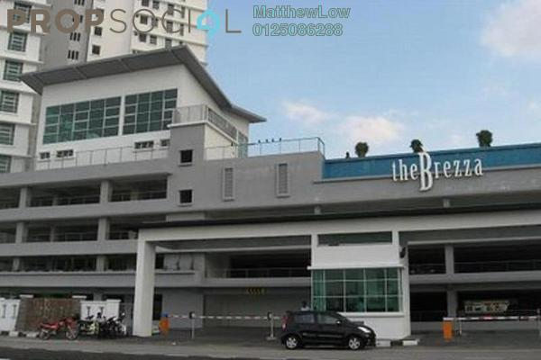 Condominium For Rent in The Brezza, Tanjung Tokong Leasehold Fully Furnished 3R/2B 3k