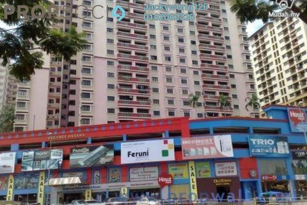 Apartment For Rent in Pelangi Damansara, Bandar Utama Leasehold Semi Furnished 3R/2B 1.3k