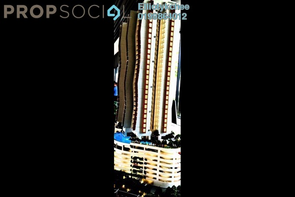 Condominium For Sale in The Clio Residences, IOI Resort City Freehold Semi Furnished 3R/2B 680k