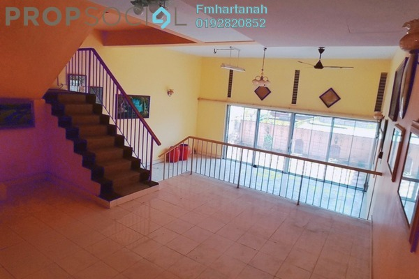 Terrace For Rent in Taman Permai Mas, Batu 9 Cheras Freehold Unfurnished 4R/3B 1.4k