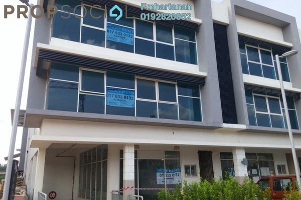 Shop For Rent in Bangi Gateway, Bandar Baru Bangi Freehold Fully Furnished 1R/1B 7k