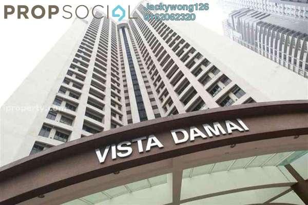 Condominium For Rent in Vista Damai, KLCC Freehold Fully Furnished 3R/3B 3.7k