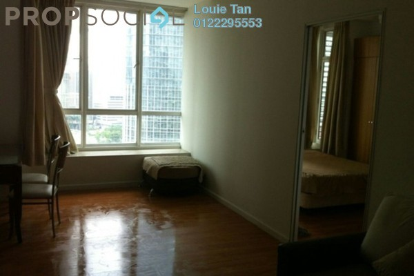 Condominium For Rent in Park View, KLCC Freehold Fully Furnished 1R/1B 2.5k