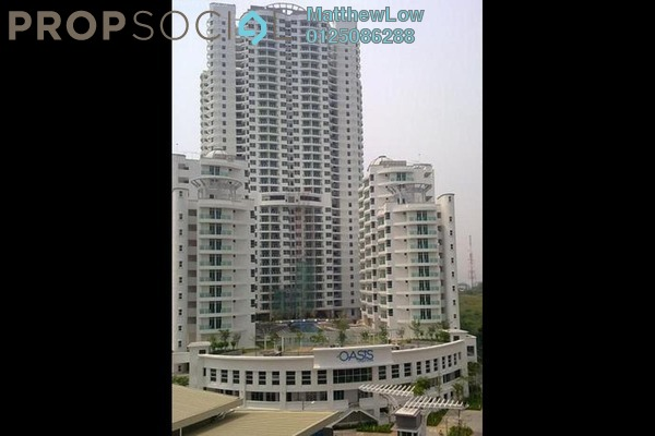 Condominium For Sale in The Oasis, Gelugor Leasehold Semi Furnished 3R/2B 590k
