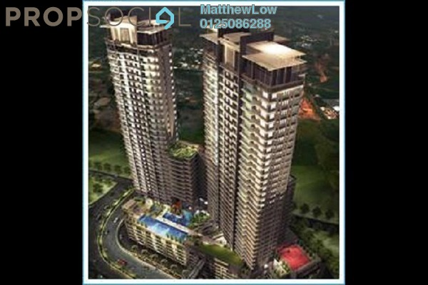 Condominium For Sale in Vertiq, Gelugor Freehold Fully Furnished 4R/3B 1.8m