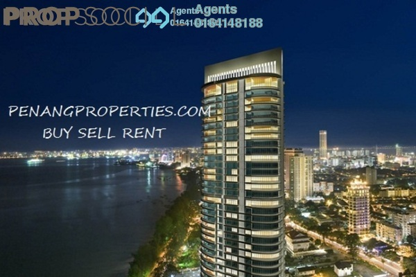 Condominium For Rent in Gurney Paragon, Gurney Drive Freehold Fully Furnished 3R/3B 7k