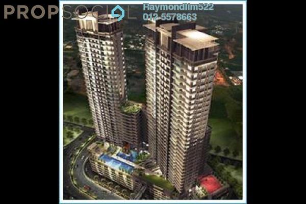 Condominium For Sale in Vertiq, Gelugor Freehold Semi Furnished 3R/3B 1.9m