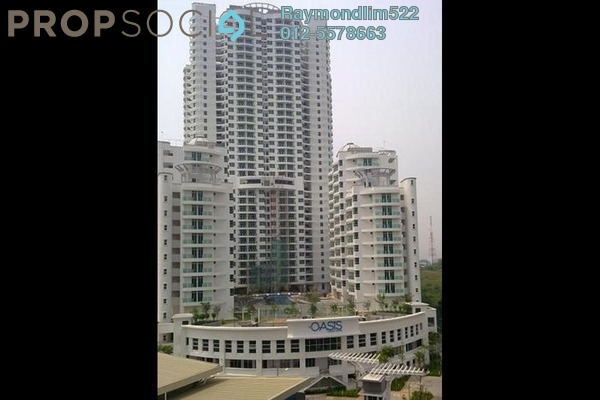 Condominium For Sale in The Oasis, Gelugor Leasehold Unfurnished 3R/2B 595k