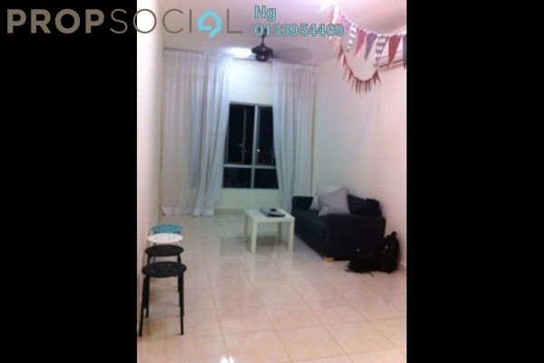 Condominium For Rent in Metropolitan Square, Damansara Perdana Leasehold Semi Furnished 1R/1B 1.8k
