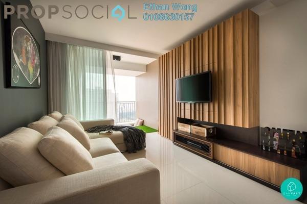 Condominium For Sale in The Edge Residen, Subang Jaya Leasehold Semi Furnished 2R/2B 420k