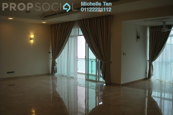 Condominium For Rent in The Pearl, KLCC Freehold Semi Furnished 4R/5B 15k