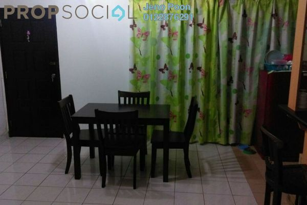 Condominium For Rent in Endah Ria, Sri Petaling Leasehold Fully Furnished 3R/2B 1.3k
