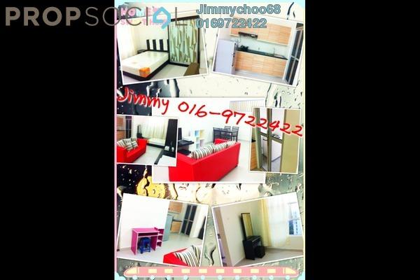 For Rent Condominium at The Domain, Cyberjaya Freehold Semi Furnished 1R/1B 1.3k