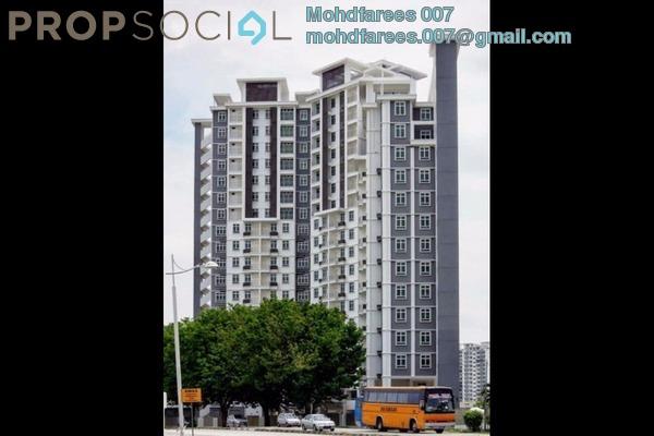 Condominium For Rent in Tunas Residensi, Bayan Baru Freehold Unfurnished 4R/3B 1.3k