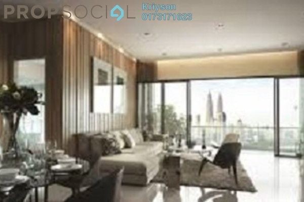 Condominium For Rent in Setia Sky Residences, KLCC Freehold Fully Furnished 3R/2B 5.5k