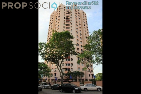 Condominium For Rent in Mewah Court, Green Lane Leasehold Semi Furnished 3R/2B 1.2k