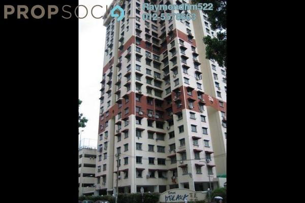 Apartment For Rent in Taman Pekaka, Sungai Dua Freehold Semi Furnished 3R/2B 1k
