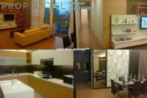 Condominium For Rent in Swiss Garden Residences, Pudu Freehold Fully Furnished 1R/1B 2.3k