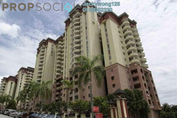 Condominium For Sale in Amadesa, Desa Petaling Leasehold Semi Furnished 3R/2B 490k