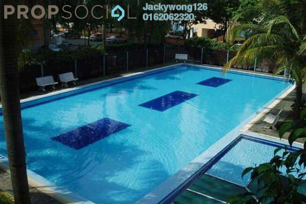 Condominium For Rent in Endah Ria, Sri Petaling Leasehold Semi Furnished 3R/2B 1.3k