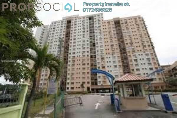 Condominium For Rent in Sri Jati II, Old Klang Road Freehold Semi Furnished 3R/2B 1.3k