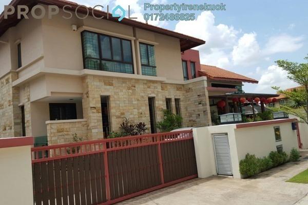 Bungalow For Sale in Taman Bukit Segar, Cheras Freehold Semi Furnished 7R/8B 8m
