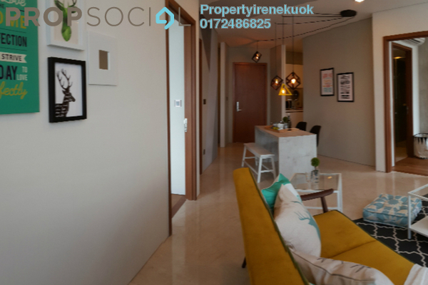 Apartment For Rent in Vortex Suites & Residences, KLCC Freehold Fully Furnished 2R/2B 5k