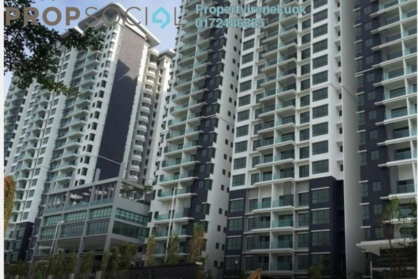 Condominium For Rent in KL Palace Court, Kuchai Lama Leasehold Fully Furnished 2R/2B 1.6k