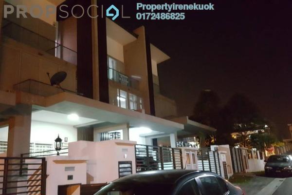 Terrace For Rent in Sunstone Villa, Bandar Mahkota Cheras Freehold Semi Furnished 6R/4B 1.95k