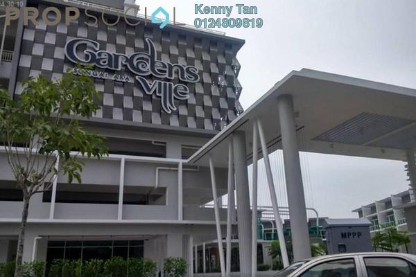 Condominium For Rent in Gardens Ville, Sungai Ara Freehold Fully Furnished 3R/2B 1.1k