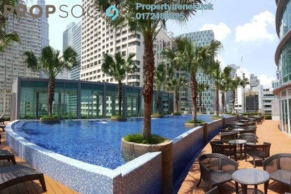 For Rent Apartment at Vortex Suites & Residences, KLCC Freehold Fully Furnished 2R/2B 5k