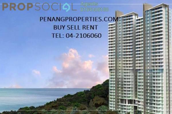 Condominium For Rent in Island Resort, Batu Ferringhi Freehold Semi Furnished 0R/0B 2.8k