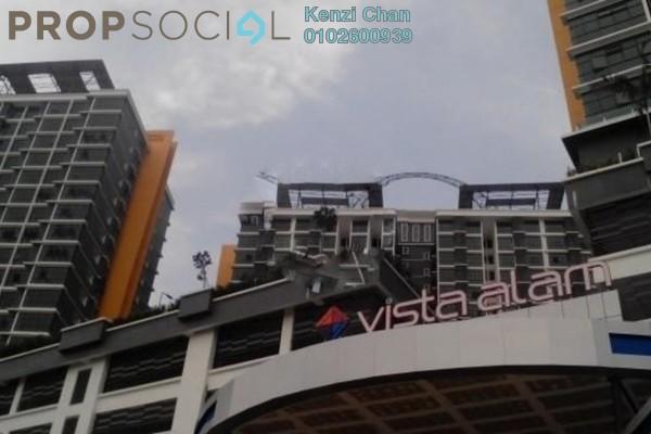 Condominium For Rent in Vista Alam, Shah Alam Leasehold Semi Furnished 2R/2B 1.25k