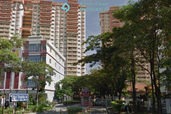 For Rent Condominium at Koi Tropika, Puchong Leasehold Semi Furnished 3R/2B 1.15k