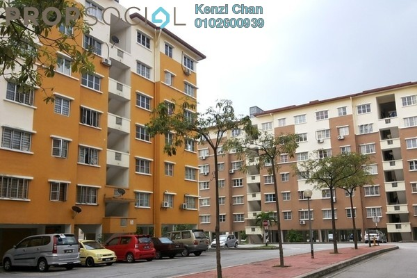 Condominium For Rent in Salvia Apartment, Kota Damansara Leasehold Semi Furnished 3R/2B 1k
