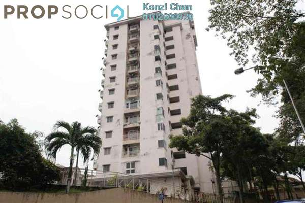 Condominium For Rent in Midah Heights, Cheras Freehold Semi Furnished 3R/2B 1.4k