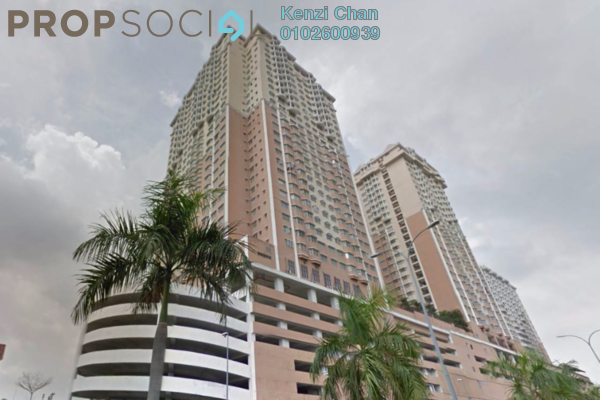 For Rent Condominium at Rhythm Avenue, UEP Subang Jaya Freehold Semi Furnished 3R/2B 1.3k