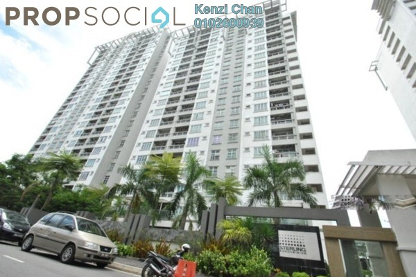 Condominium For Rent in Sterling, Kelana Jaya Leasehold Fully Furnished 4R/2B 2.5k
