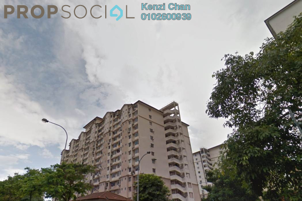 Condominium For Rent in Lestari Apartment, Bandar Sri Permaisuri Leasehold Unfurnished 3R/2B 1k