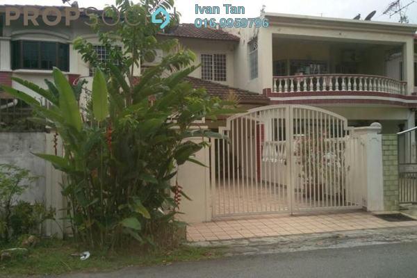 Terrace For Sale in Pandan Perdana, Pandan Indah Leasehold Semi Furnished 5R/4B 670k