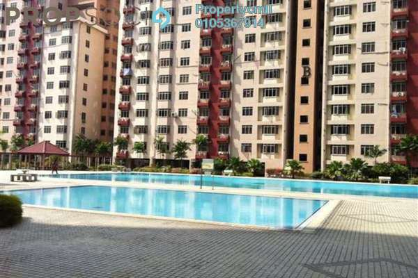 Condominium For Rent in Kelana Puteri, Kelana Jaya Leasehold Fully Furnished 3R/2B 1.7k