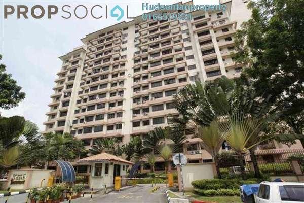Condominium For Rent in Bayu Tasik 1, Bandar Sri Permaisuri Leasehold Semi Furnished 3R/2B 1.3k