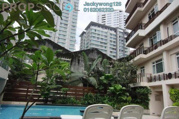 Condominium For Rent in 38 Bidara, Bukit Ceylon Freehold Fully Furnished 2R/2B 2.6k