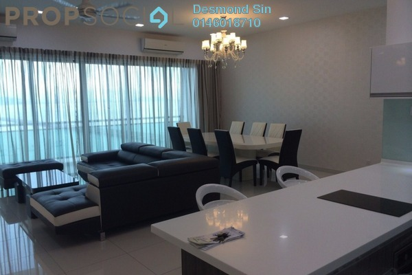 Condominium For Rent in The Light Point, The Light Freehold Fully Furnished 4R/4B 6.5k